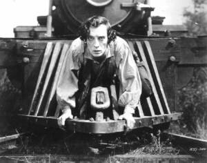 Buster Keaton in 'the General'