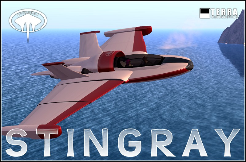 Terra Stingray amphibious jet