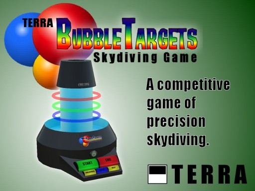 Terra BubbleTargets skydiving game