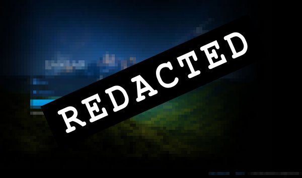 Redacted screen image