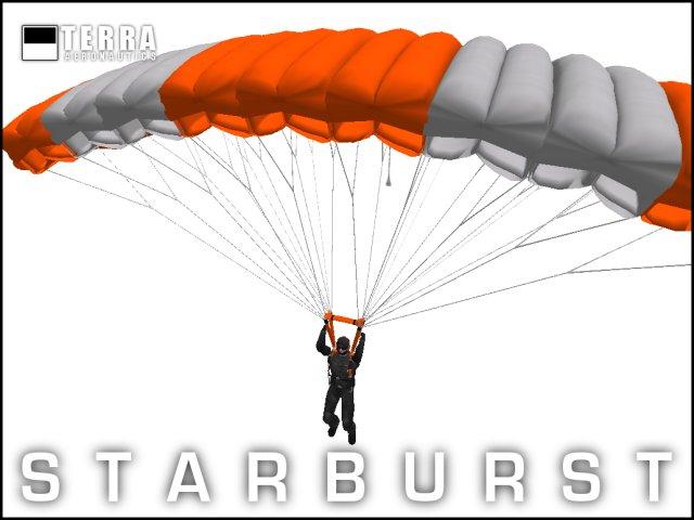 Terra Starburst sport parachute