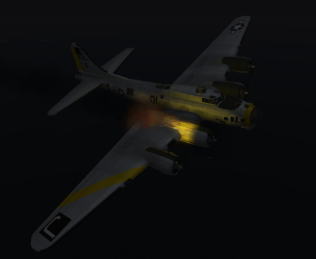 B-17 in Second Life